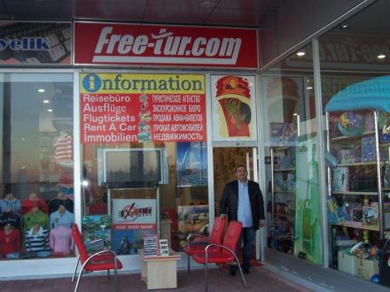 """Reiseagentur """"Free-Tur.com"""" in Lara/Kundu - Reisebüro Free-Tur-Com"""
