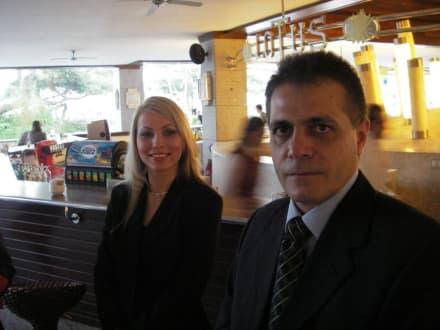 Darina Parvova und Hristo Hristov - HolidayCheck Award Gala
