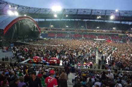 Quot Coldplay Konzert Quot Bild Hdi Arena In Hannover