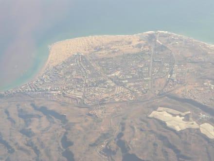Luftaufnahme der Dünen von Maspalomas - Dünen von Maspalomas