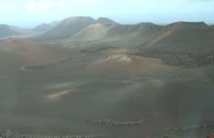 Vulkane im Park Timanfaya - Nationalpark Timanfaya (Feuerberge)