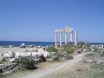 Side´s Wahrzeichen - Apollon Tempel