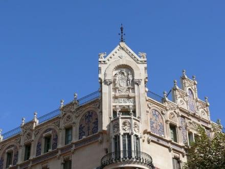 Fassade des Gran Hotel - Gran Hotel