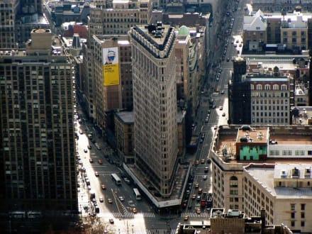 Aussicht vom Empire State Building 3 - Flatiron Building