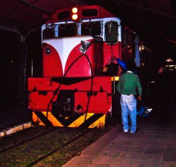 Lokomotive des Tren a las Nubes - Tren a las Nubes