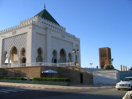 Rabat - Mohamed V. Mausoleum