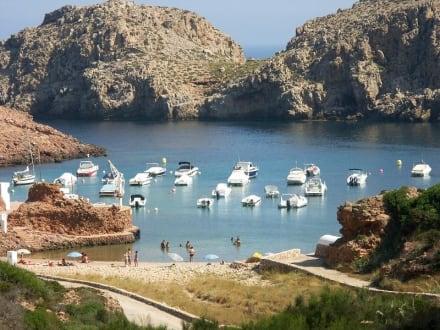 Cala Morell - Bucht Cala Morell