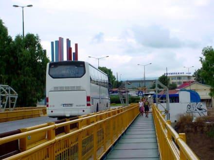 Brücke über den Kanal - Kanal von Korinth