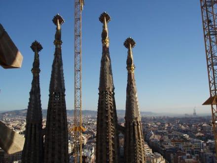 Über Barcelona - Sagrada Familia