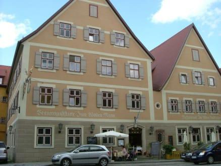 Altstadt von Dinkelsbühl - Brauereigaststätte Zum Wilden Mann