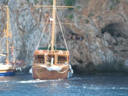 Höhlenfahrt - Bootstour Alanya