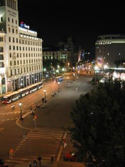 Hotel Catalunya Plaza - Platz von Katalonien
