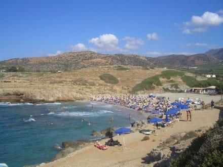 kleiner Strand 5 min von Hotel - Strand Sissi