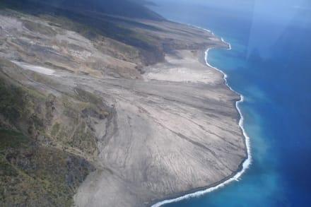 Helicopter-Vulcanotour zur Nachbarinsel Montserrat - Montserrat