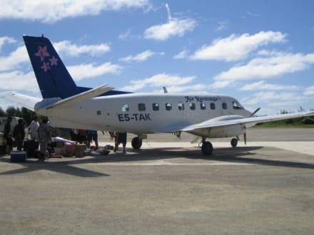 Gepäckband auf Atiu - Flughafen Atiu (AIU)