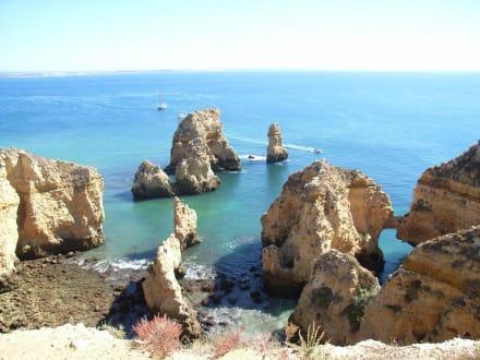 Blick auf das Meer - Ponta da Piedade