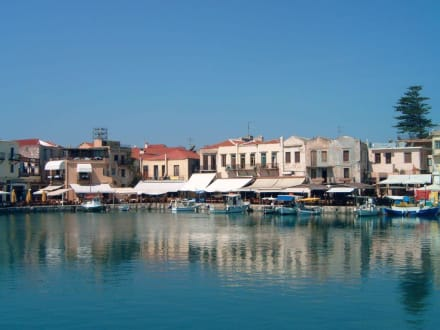 Der venezianische Hafen von Rethymnon - Kreta - Hafen Rethymno