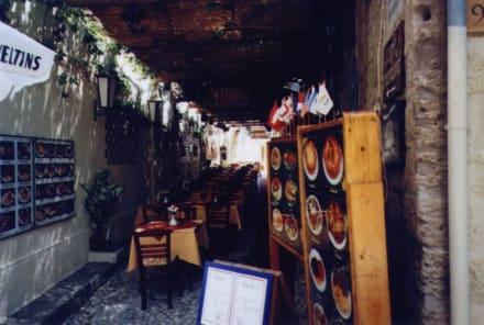 Taverne2 - Altstadt Rhodos Stadt