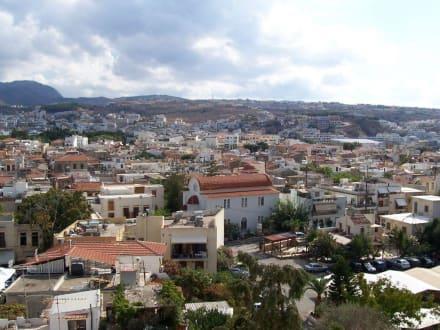 Aussicht auf die Altstadt - Altstadt Rethymno