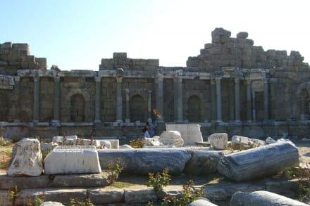Bibliotheksruine - Ruinen Side