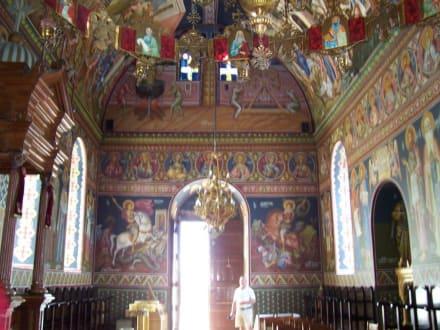 das Kircheninnere - Moni Chalevis