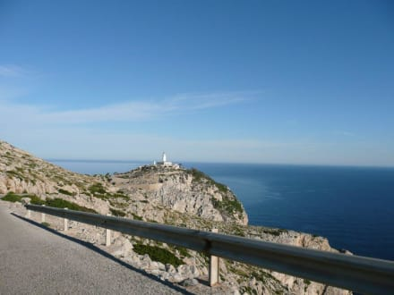 Anfahrt - Cap Formentor