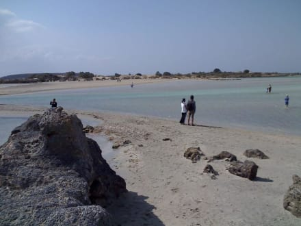 Südwestküste Kreta. - Strand Elafonisi/Elafonissi