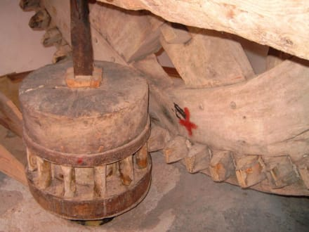 Segelwindmühle innen - Segelwindmühle