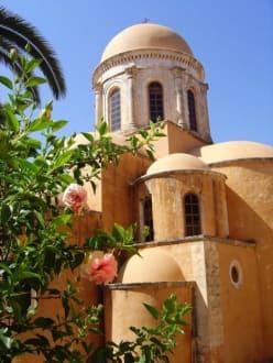 Kloster Agia Triada - Kirche im Klosterhof - Kloster Agia Triada