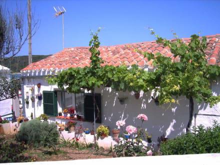 Eines der schönen Häuser in Es Grau - Naturpark Es Grau