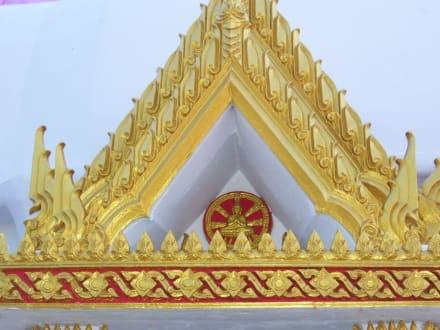Giebel - Weisser Buddha