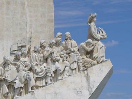 Detail Entdeckerdenkmal - Padrao dos Descobrimentos / Denkmal der Entdecker