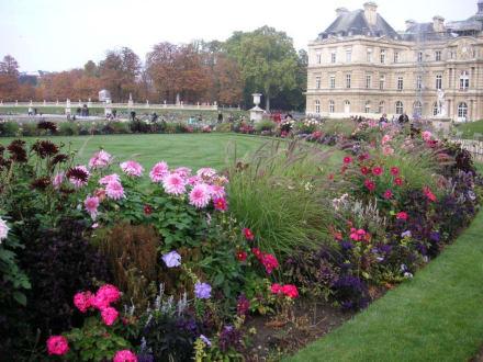 Jardin Luxembourg - Palais und Jardin du Luxembourg