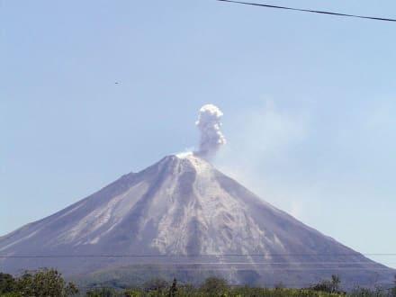 Vulkanausbruch - Vulkan Arenal