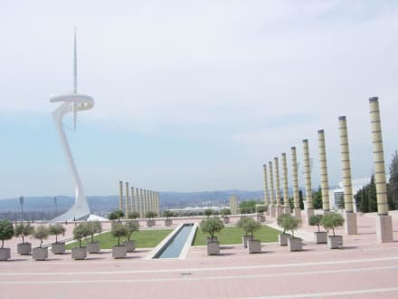 Telefonica Turm - Olympiapark Barcelona