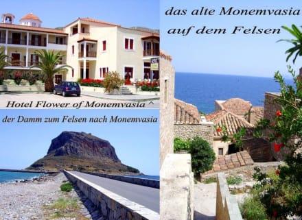Das Gibraltar Griechenlands - Altstadt Monemvasia