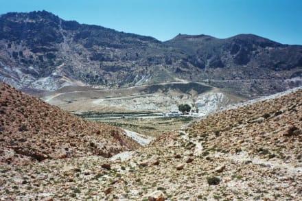 Nisyros, Caldera mit Stefanoskrater - Vulkankrater auf Nisyros