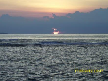 Immer wieder schön - Hotel Taprospa Beach Resort / Footprints