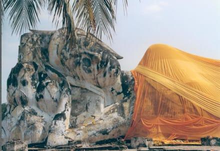 Thailand Bangkok Ayutthaya Sleeping Buddha - Wat Lokaya Sutharam