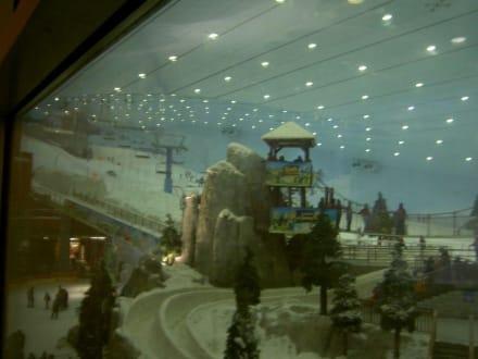 Skifahren in Dubai - Ski-Dubai Halle (Mall of the Emirates)