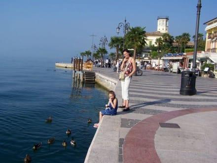 Lazise Promenade - Strandpromenade Lazise