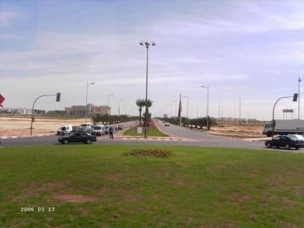 Sraßen von Agadir - Stadtrundfahrt Agadir