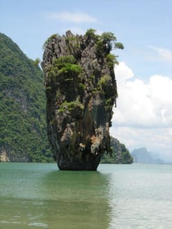 Jemas Bond Felsen - Khao Phing Kan - James Bond Felsen