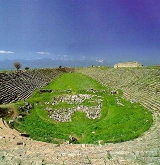 Aphrodisias / Türkei - Ruinenstätte Aphrodisias