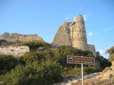 Castle of Asklipeou - Johanniter Burg - Asklipieo