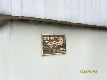 Die Sturmflut 1962! - Eider-Sperrwerk