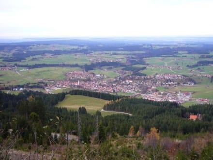Blick auf Nesselwang - Alpspitz