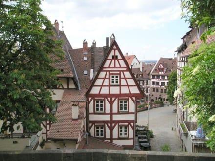 Aussicht von der Burg in Nürnberg - Altstadt Nürnberg