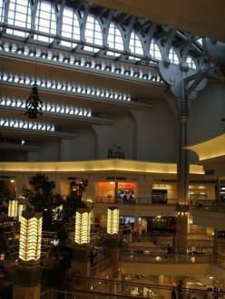 Shoppingmall im Taipei 101 - Fernsehturm