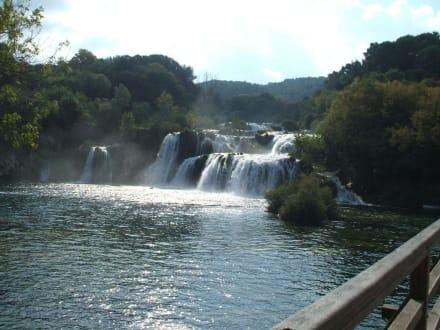 Krka Wasserfälle - Nationalpark Krka